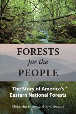 Chris Johnson's new book on the history of eastern forests