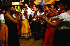 Latino music and traditions are preserved through the Latino Arts Strings Program. Contributor Amy Kiley introduces us to some of the program's students.