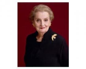 Former US Secretary of State Madeleine Albright.