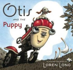 "Long's new book, ""Otis and the Puppy."""