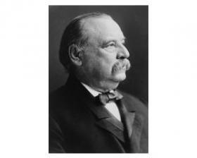 President Grover Cleveland.
