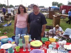 Ron and Kathy Kay sell all things Farberware.