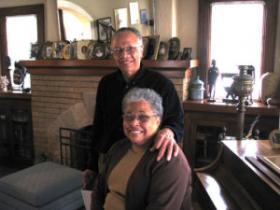 Gloria Wright and her husband Bruce