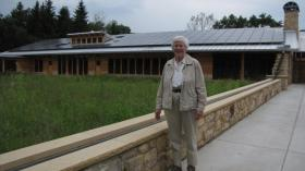 Environmental historian Susan Flader at Aldo Leopold Legacy Center in Baraboo.