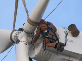Click to Enlarge PhotoThe Port of Milwaukee wind turbine