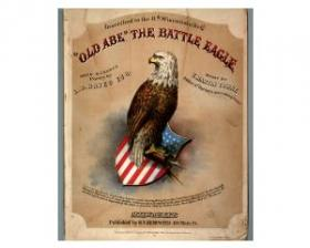 The 8th Wisconsin was known for its unofficial mascot, Old Abe, a domesticated bald eagle who terrorized Confederates in battle.