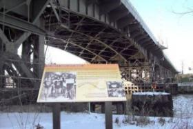 Shirley Butler-Derge wants to include Milwaukee's 16th Street viaduct, also known as the James E. Groppi Unity Bridge, as part of a walking tour of important civil rights sites in Milwaukee.
