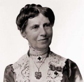 The famous Civil War nurse and founder of the American Red Cross Clara Barton