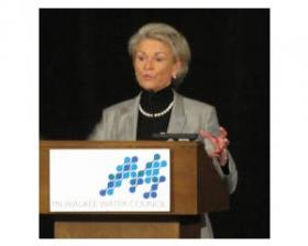 Southern Nevada Water Authority and Las Vegas Valley Water District general manager Pat Mulroy talked last week at Water Summit 2012 in Milwaukee.
