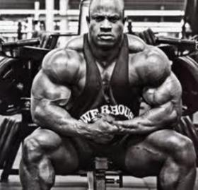 Professional bodybuilder Victor Martinez