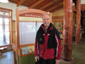 Don Quintenz has been tracking plant and willdlife at Schlitz Aububon Nature Center for 32 years.