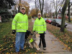 Village of Shorewood is one of the communities that called on Sable and Logan to sniff out sewage.