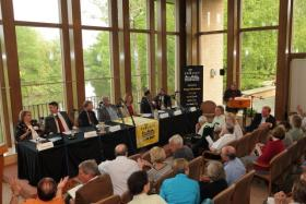 Panelists offered their perspectives on what will enable southeastern Wisconsin prosper.
