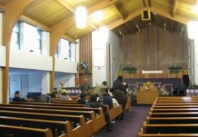 Discussion session ends at New Hope Missionary Baptist Church