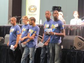 Dozens of Growing Power volunteers, interns and employees helped pull off the three-day activity-laden conference.
