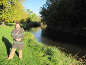 Susan Greenfield wants to make sure Root River restoration isn't dampened by Waukesha water deal.