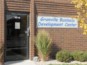 Gordon Nameni rents an office inside the Granville Business Development Center.