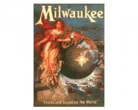 A turn-of-the-century book about Milwaukee boasted of the economy's connection to farms.