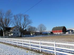 The Bishop's farm was placed within the drinking water advisory area back in July.