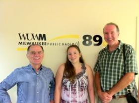 Tom Luljak, Cynthia Aguas-Fernandez and Nigel Rothfels