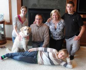 The Ziolkowski family of Whitewater, Wis.