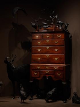 "Part of the ""Loca Miraculi: Rooms of Wonder"" exhibit"