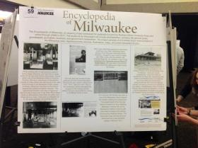 """A UWM student's poster about """"baby hammocks"""" was presented at the Undergraduate Research Symposium."""