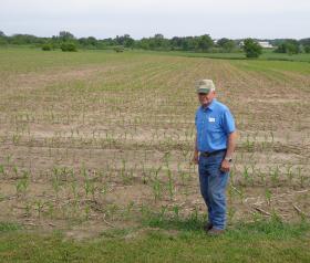 Palmyra farmer Bob Oleson says ethanol has been a boon for Wisconsin's corn growers