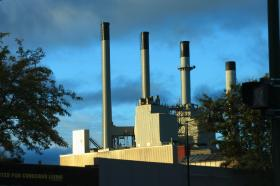 Blount Generating Station in Madison, WI.