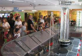 "The ""water machine"" at the Madison Children's Museum"