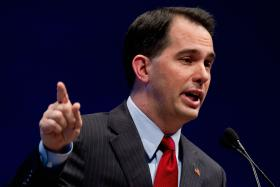 Walker's approval rating has hovered around 50%, since winning his recall election in June, 2012
