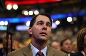 Scott Walker's trips outside the state have likely helped his fund raising during the first half of the year.
