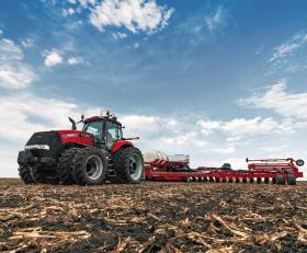 The Case IH Magnum 380 tractor is built at the company's plant in Racine today