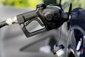 Prices at the pump were more than 61 cents lower on Sunday than one month ago