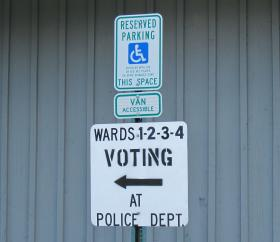 The Government Accountability Board says municipal clerks are responsible for making sure polling places are accessible