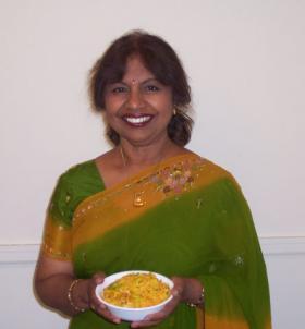 Milwaukee chef and author Alamelu Vaivaran