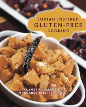 A new cookbook combines the flavors of Indian cooking with gluten-free recipes.