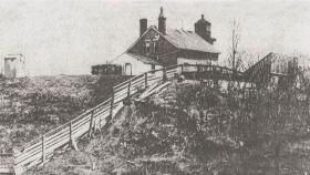 The original North Point Lighthouse