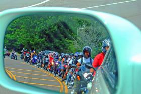 Eric Oliver says that motorcyclists need to be noticed by everyone.