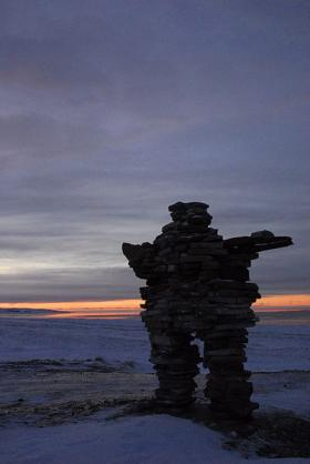 The inuksuk, or Inuit stone markers, inspired an outdoor music piece coming to Milwaukee.