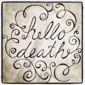 Heuer's band, Hello Death, will be performing this Saturday night at the Riverwest Public House.