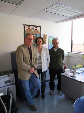 Tim Ehlinger, Bridget Brown and Rob Ricigliano lead the UWM Master of Sustainable Peacebuilding program