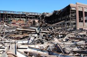 The city of Milwaukee has cleared the former Tower site of mountains of debris and dilapidated buildings.