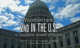 The business lobbying group, Wisconsin Manufacturers and Commerce, has been airing ads on behalf of Gov. Scott Walker.