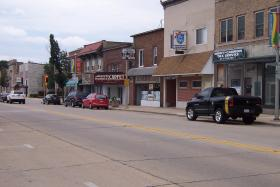 Ma and pa businesses dot the landscape of downtown South Milwaukee.