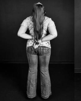 """William Zuback's photograph """"Jane Doe No. 13 (Clothed)"""" appears in his new exhibit, """"Identity."""""""