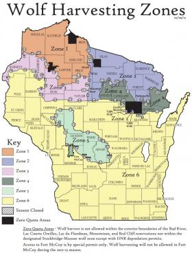 Zone 2 in northeastern Wisconsin will close Wednesday afternoon
