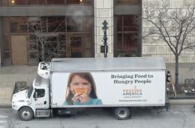 Feeding America Eastern Wisconsin places food collection boxes in office buildings and other locations throughout the metro area.