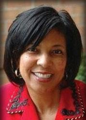 Dr. Eve Hall, President and CEO of the African American Chamber of Commerce.