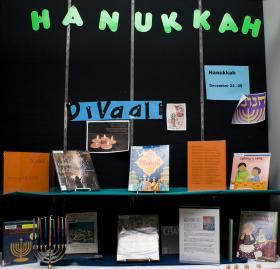 """Essayist Avi Lank says there's been an """"undue public emphasis"""" on Chanukah to coincide with the Christmas holiday."""